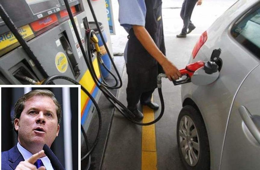 Marx Beltrão pede a Bolsonaro atuação com estados para redução de impostos sobre combustíveis