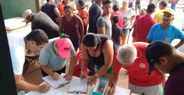 SE ESSA MODA PEGA – População coleta assinaturas para diminuir em 50% salários de vereadores no Pará