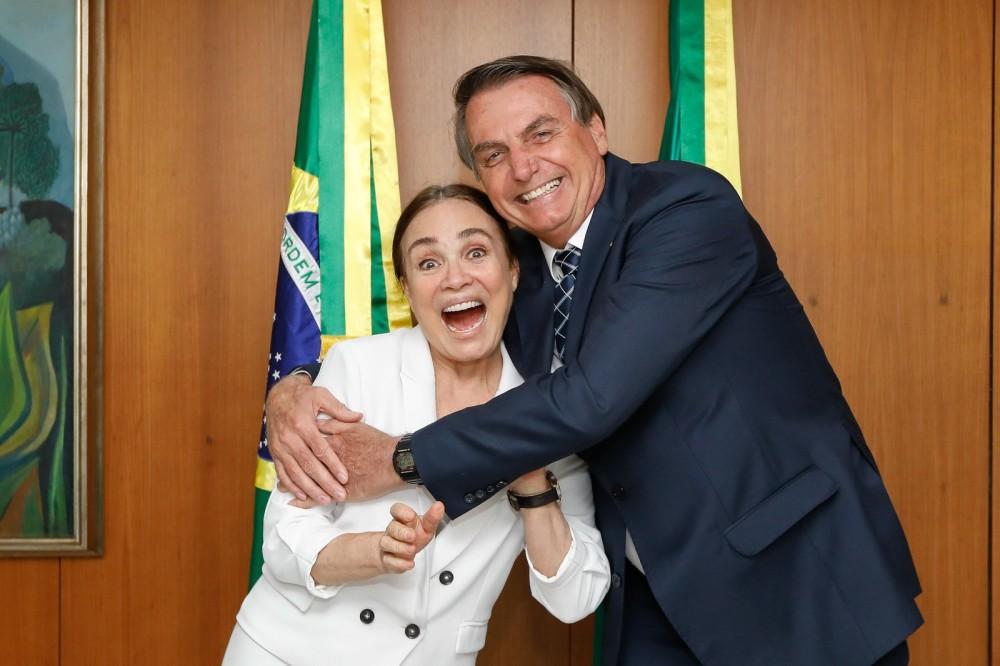 FIM DA NOVELA – Globo e Regina Duarte entram em acordo e encerram contrato