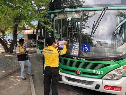 FISCALIZAÇÃO – SMTT lacra mais cinco ônibus em Maceió