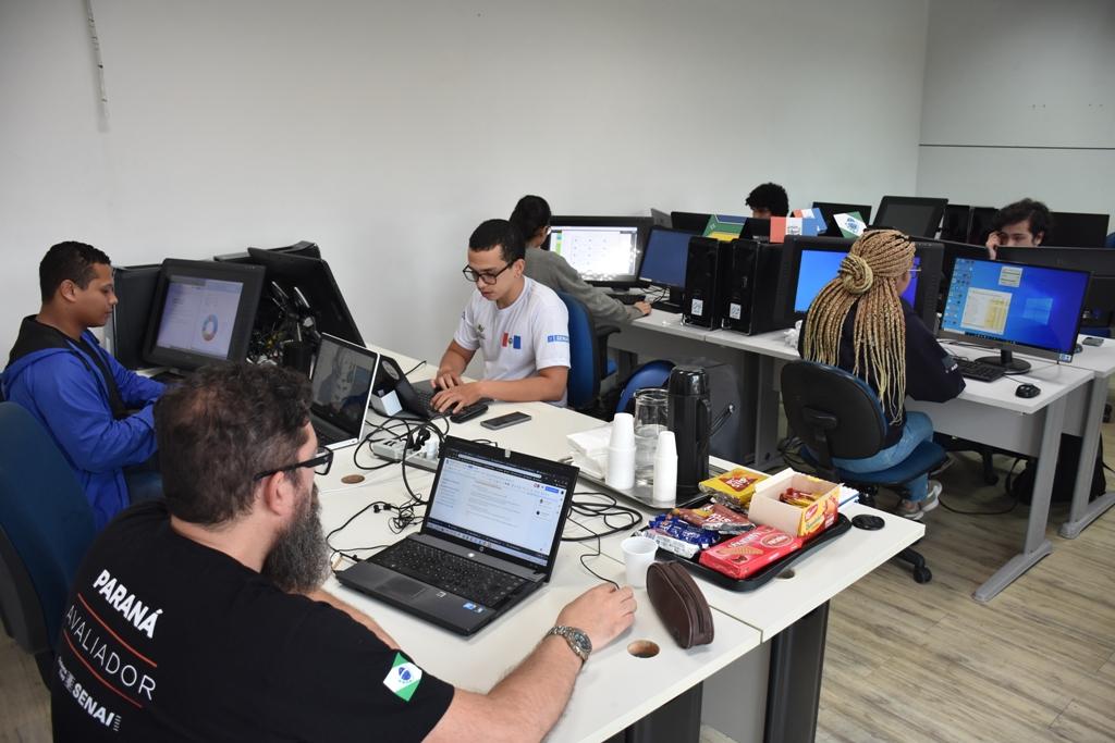 TECNOLOGIA – Senai/AL sedia simulado da Olimpíada do Conhecimento em Tecnologias Web