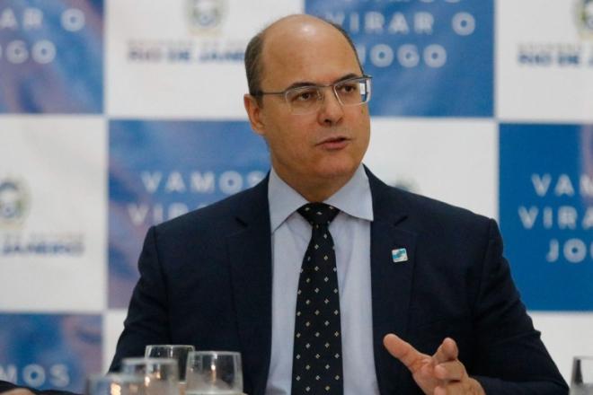 """""""DESASTRE"""" – Witzel é contra pronunciamento feito por Bolsonaro"""