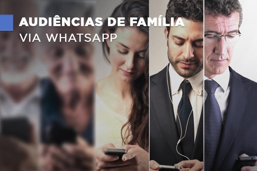 VIDEOCONFERÊNCIA – TJ de Alagoas  autoriza audiências pelo Whatsapp em processos das Varas de Família