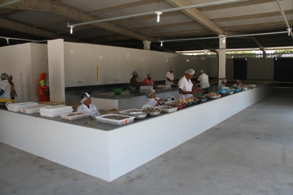 BALANÇA DO PEIXE – Prefeitura conclui realocação para Centro Pesqueiro