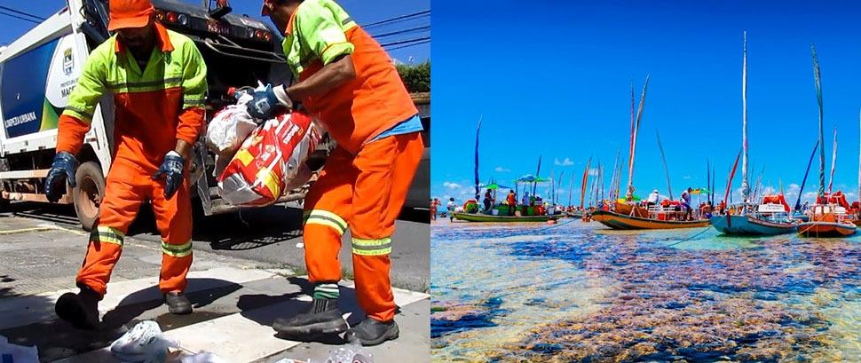 PRECAUÇÃO – Prefeitura suspende coleta seletiva e passeios turísticos em veículos e embarcações