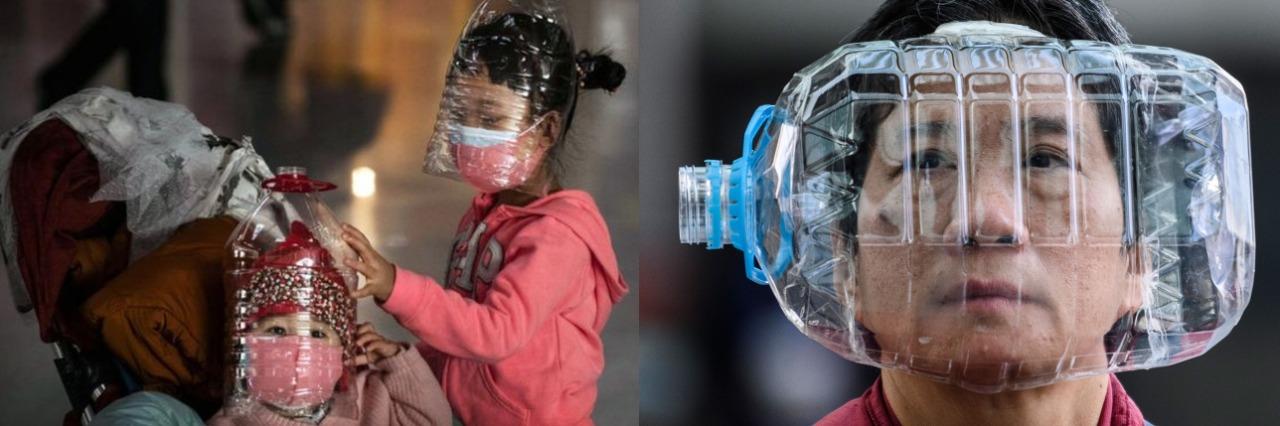 CORONAVÍRUS – Garrafa pet seria uma alternativa em meio à escassez de máscaras?