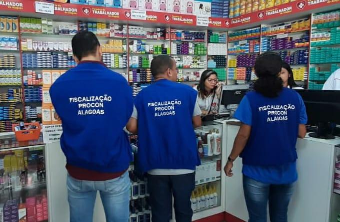 PROCON/AL – Fiscalização é intensificada em locais onde são vendidos álcool em gel, luvas e máscaras