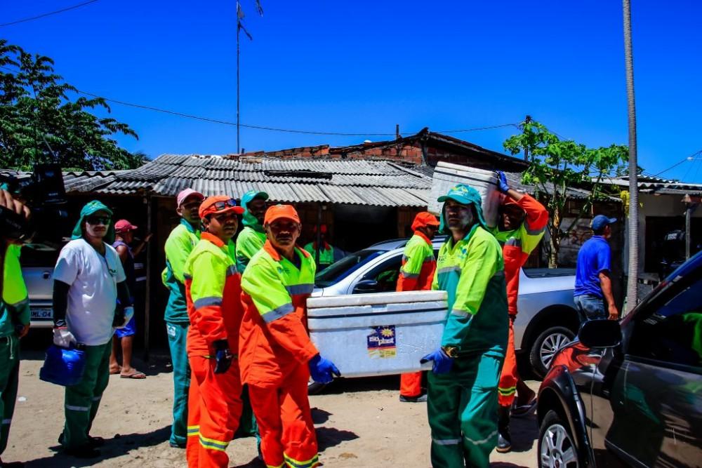 PREFEITURA DE MACEIÓ –  Inicia realocação de permissionários para o Centro Pesqueiro