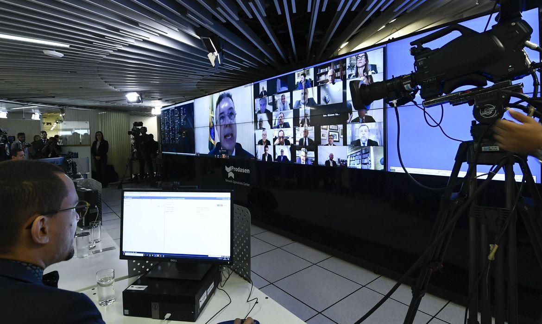 CORONAVÍRUS – Senado aprova decreto de calamidade pública em sessão virtual inédita