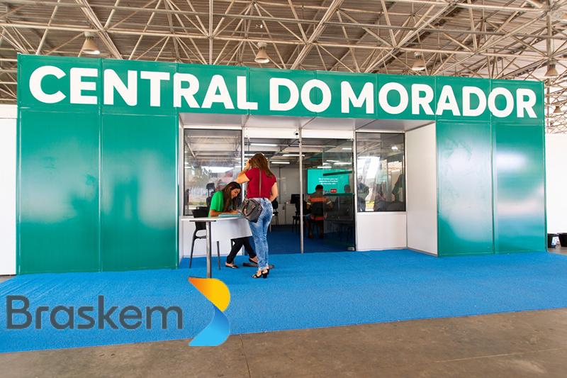 BRASKEM: Central do Morador completa 3 meses com mais de 2,6 mil atendimentos já iniciados no Programa de Compensação Financeira e Apoio à Realocação