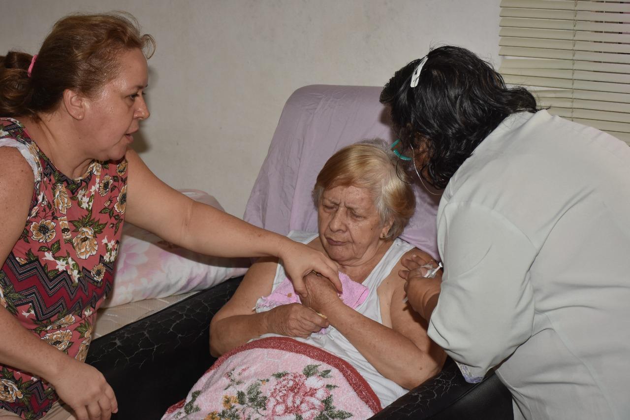 INFLUENZA – Vacinação de idosos acamados poderá ser agendada