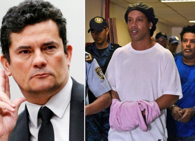 RONALDINHO GAÚCHO – Ministro paraguaio afirma que Moro pediu libertação do ex-jogador