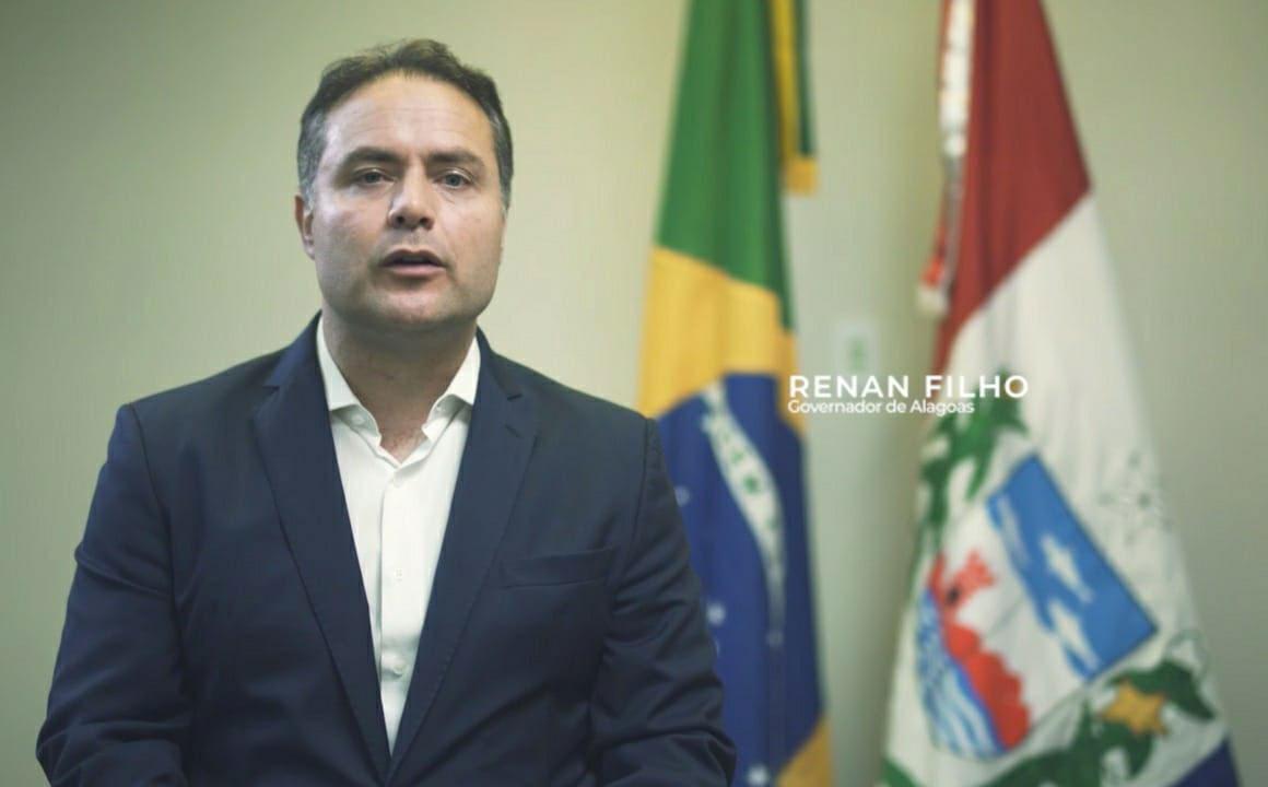COVID-19: Governador Renan Filho faz pronunciamento sobre combate à pandemia em Alagoas