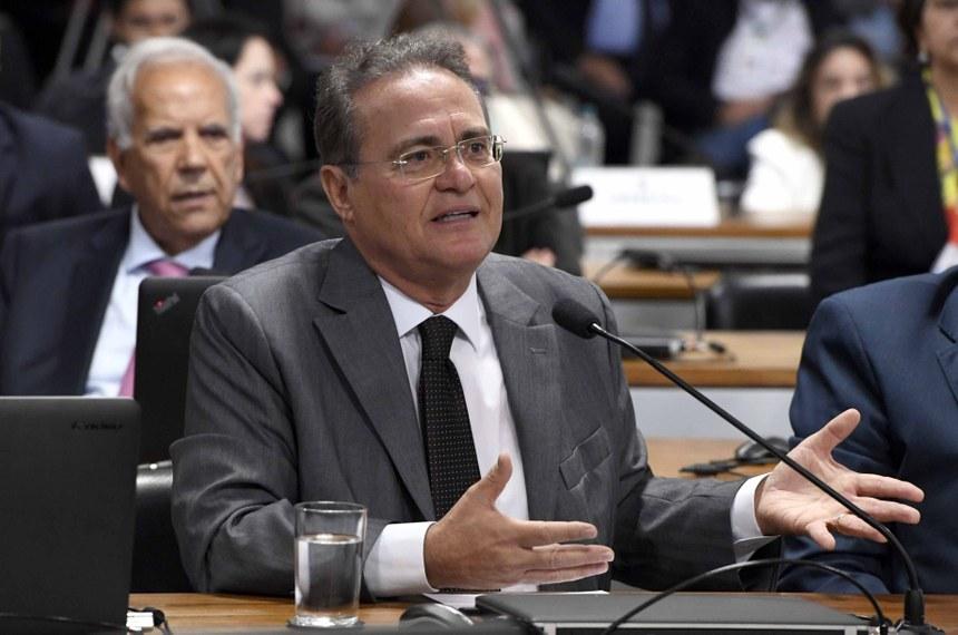 Renan Calheiros critica decisão de ministro do TCU de suspender ampliação do BPC