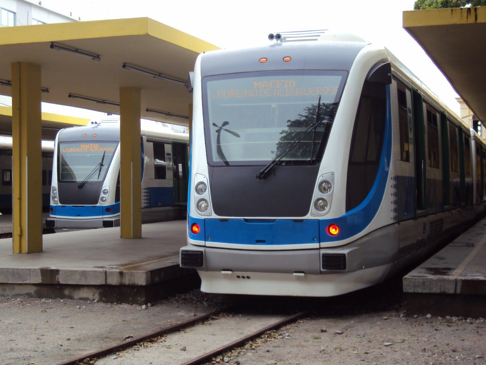 CBTU –  Em Alagoas, Trens e VLT voltam a circular em horário especial