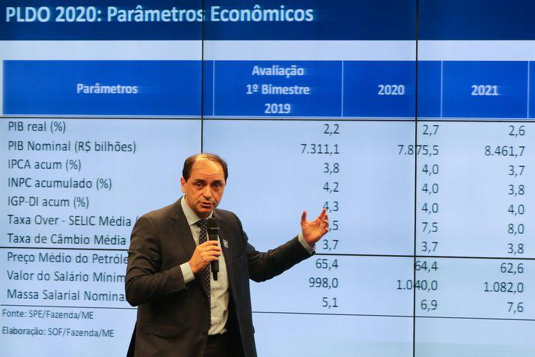 PISANDO NO FREIO – Ministério reduz previsão de crescimento da economia para 2,1%