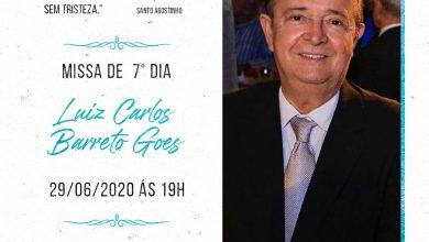 Photo of MOMENTO DE FÉ E SAUDADE – Missa de sétimo dia de Luís Carlos Barreto Goes será transmitida pelo YouTube